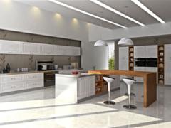 厨房变迁史,班贝格给你现代橱柜全新体验~